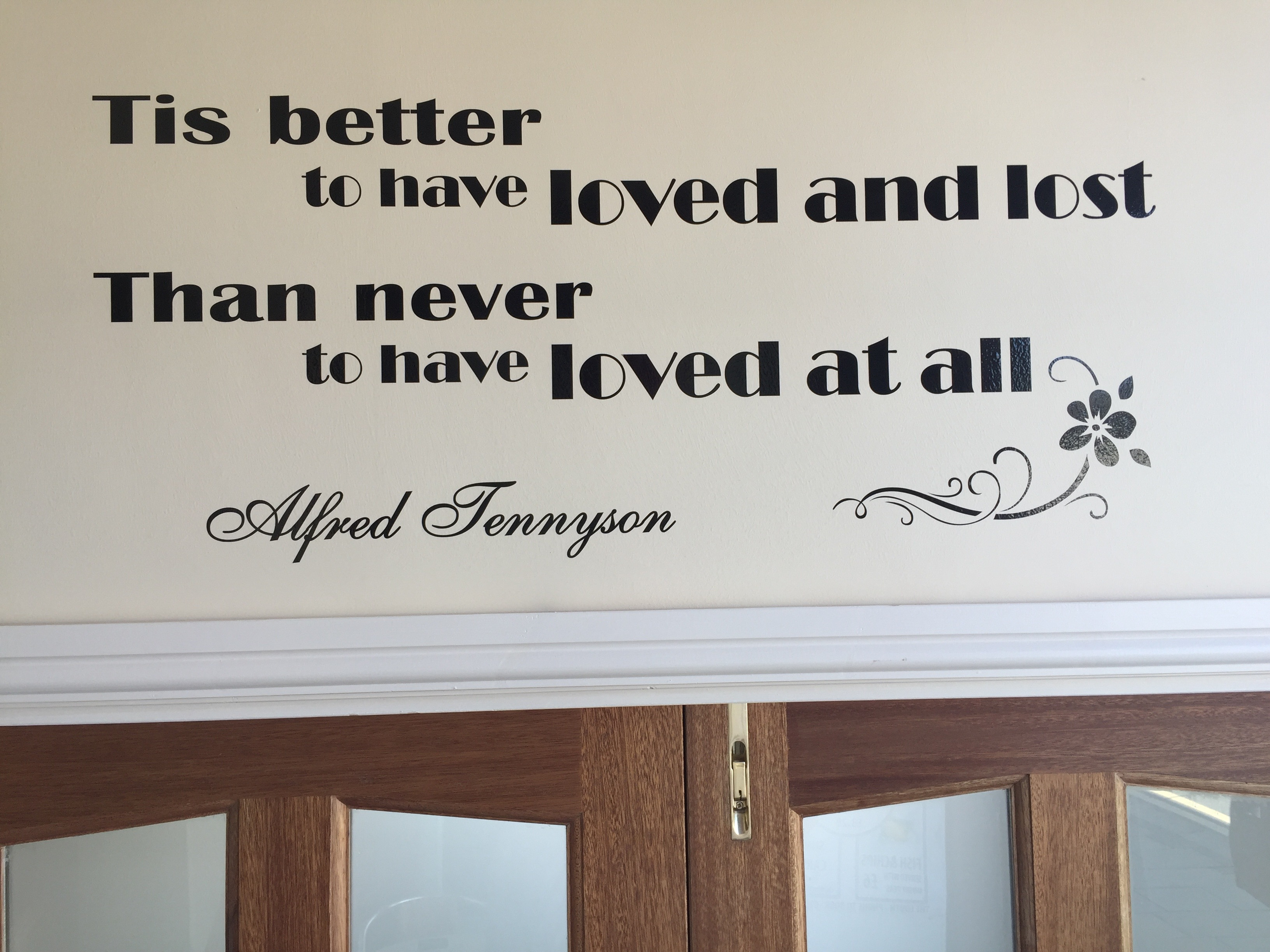 Tennyson Quote